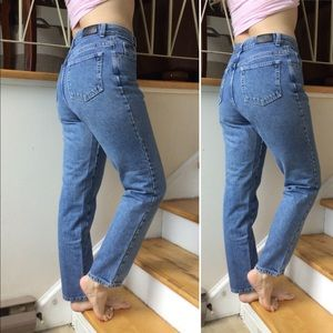 Vintage New York High Waist Mom Jeans